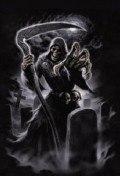 FÜZET A/5 vonalas / JOURNAL Lined - Anne Stokes: Grim Reaper 2