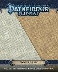 Pathfinder Gamemastery Flip-Mat - BASIC TERRAIN - BIGGER