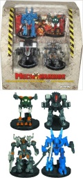 MechWarrior - CHAMPIONS Volume 1 Action Pack (4)