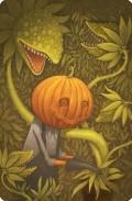 Dixit 5 - Promo Card: Pumpkinhead