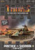 15mm WW2 - TANKS! - Panther vs. Sherman Starter Set
