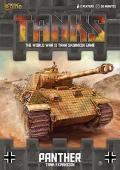 15mm WW2 - TANKS! - German Panther Tank Expansion