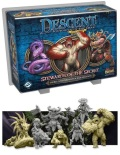 Descent 2nd Ed. - STEWARDS OF THE SECRET Hero and Monster Collection