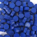 BOARD GAME COUNTERS - BLUE wooden