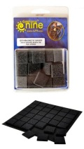 Bases - 20mm MAGNETIC SQUARE BASES (36) w/insert