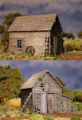 28mm Scenery - RAMSHACKLE BARN