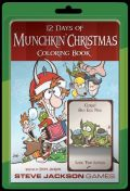 Munchkin - 12 DAYS OF CHRISTMAS Coloring Book (+ 10 Cards!)