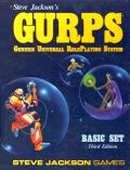 GURPS - BASIC SET 3rd Ed. RPG (used)