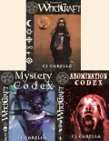 WITCHCRAFT RPG + MYSTERY CODEX + ABOMINATION CODEX (used)