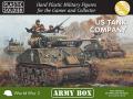 15mm WW2 US Tank Company Army 1944 Box Set
