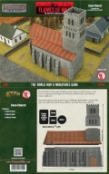 15mm WW2 Scenery - Caen Church