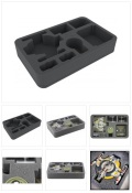 X-Wing - Feldherr HSFZ050BO Foam Tray for Star Wars X-WING Shadow Caster, Ships and Accessories