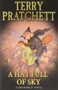 Discworld - 32. A HAT FULL OF SKY - A Tiffany Aching Adventure (Children cover)