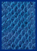 KÁRTYAVÉDŐ / DECK PROTECTORS - Gloss - Dragon Hide Blue (50)