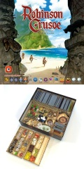 ROBINSON CRUSOE Adventures on the Cursed Island Boardgame (1-4) New Edition