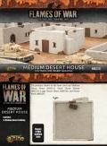 15mm WW2 Scenery - Medium Desert House (1)