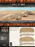 15mm WW2 Scenery - Desert Escarpments (2)