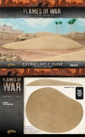 15mm WW2 Scenery - Extra Large Dune (1)