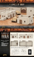 15mm WW2 Scenery - Small Desert Houses (2)