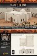 15mm WW2 Scenery - Desert Administration Building
