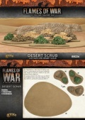 15mm WW2 Scenery - Desert Scrub (10)