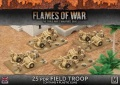 15mm WW2 British Desert Rats 25pdr Field Troop (4)