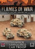 15mm WW2 British Desert Rats Humber Armoured Car Troop (3)