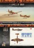 15mm WW2 British Desert Rats Hurricane Flight (2)