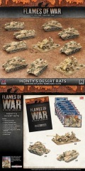 15mm WW2 British MONTY'S DESERT RATS