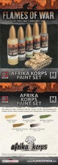 Flames of War Paint Sets - German Afrika Korps Paint Set