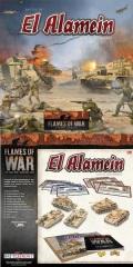 Flames of War - EL ALAMEIN Box (1x Grant, 2x Crusdaer, 1x PzIII, 1x PzIV - Plastic)