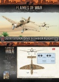 15mm WW2 German Afrika Korps Ju 87 Stuka Dive Bomber Flight (2)