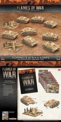 15mm WW2 German ROMMEL'S AFRIKA KORPS Army Deal