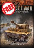 Flames of War - LateWar / Early War Free Special Rules and Warriors - csak személyes átvétellel, V3