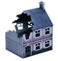 1/72 Scenery - Destroyed Farmhouse