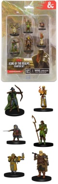 D&D Miniatures - ICONS OF THE REALMS - STARTER SET REVISED (6) (fix)