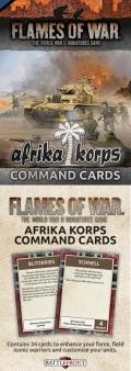 Flames of War - German Afrika Korps Command Cards (34)
