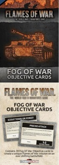 Flames of War - Fog of War Objective Cards