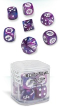 Blood Bowl - Naggaroth Nightmares Dark Elf Dice Set