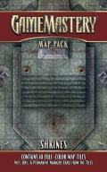 Pathfinder Gamemastery Map Pack - SHRINES