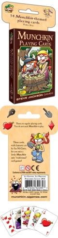 Munchkin - PLAYING CARDS (54)