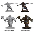 D&D Nolzur's Marvelous Minis - Dwarf Male Fighters (2)