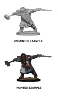 D&D Nolzur's Marvelous Minis - Dwarf Male Fighter 1