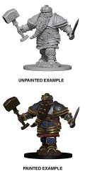 D&D Nolzur's Marvelous Minis - Dwarf Male Fighter 2