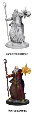 D&D Nolzur's Marvelous Minis - Human Male Wizard 1