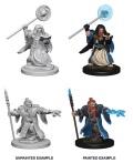 D&D Nolzur's Marvelous Minis - Dwarf Male Wizards (2)