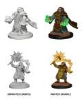 D&D Nolzur's Marvelous Minis - Dwarf Female Clerics (2)