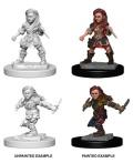 D&D Nolzur's Marvelous Minis - Halfling Female Rogues (2)