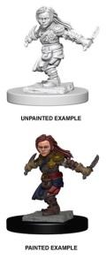 D&D Nolzur's Marvelous Minis - Halfling Female Rogue 2