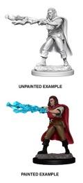 D&D Nolzur's Marvelous Minis - Human Male Sorcerer 1